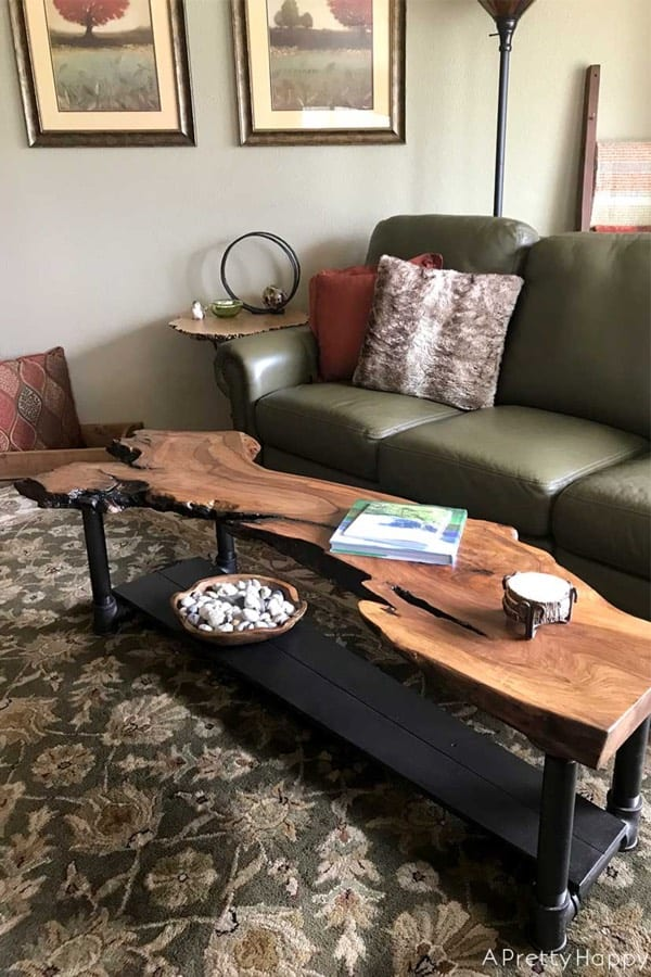 best live edge coffee table