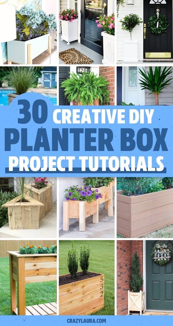 planter box free plans