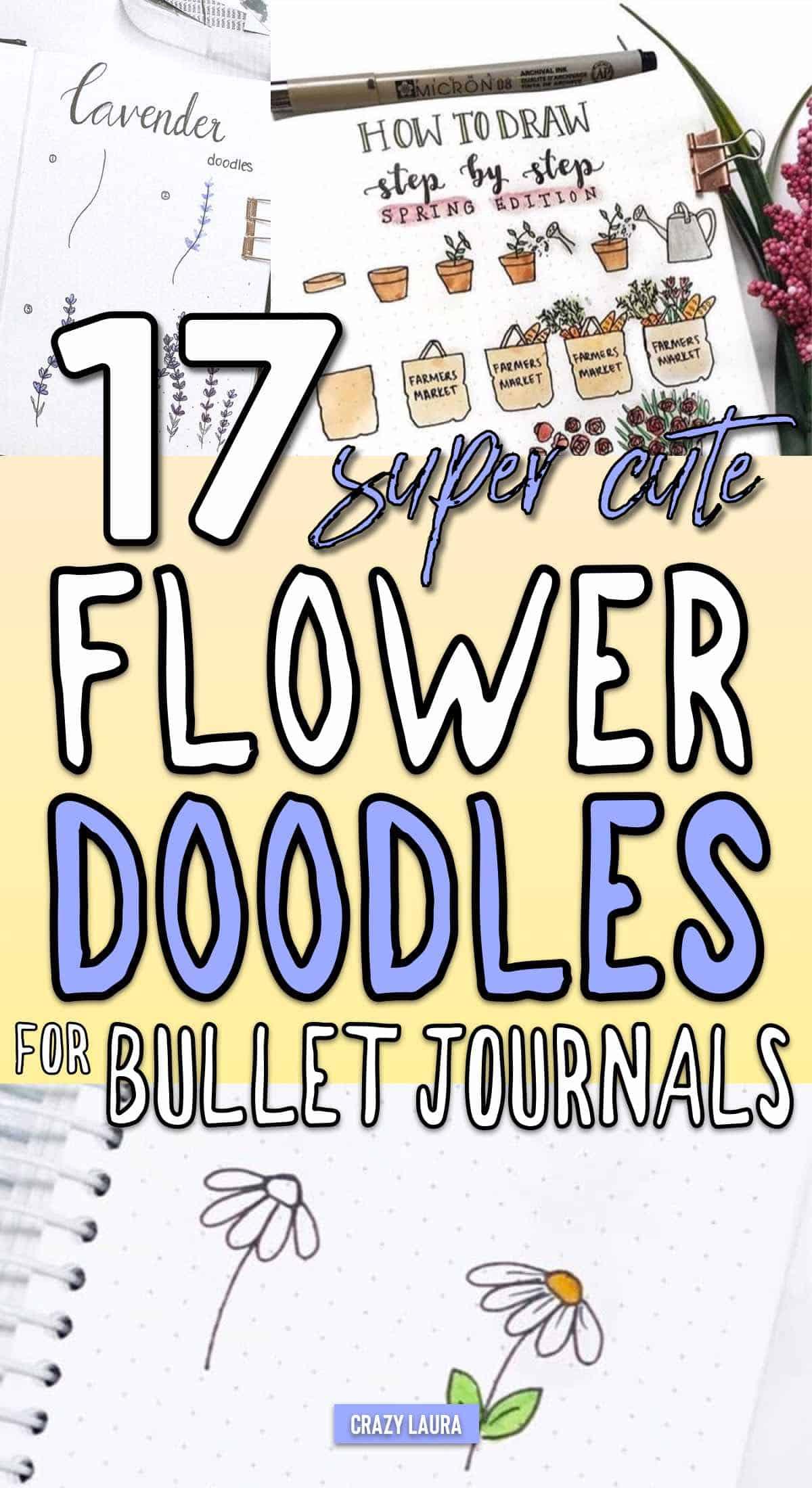 best flower doodle guides