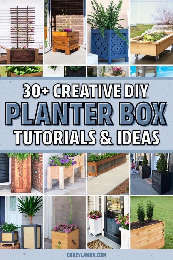 garden box tutorial ideas