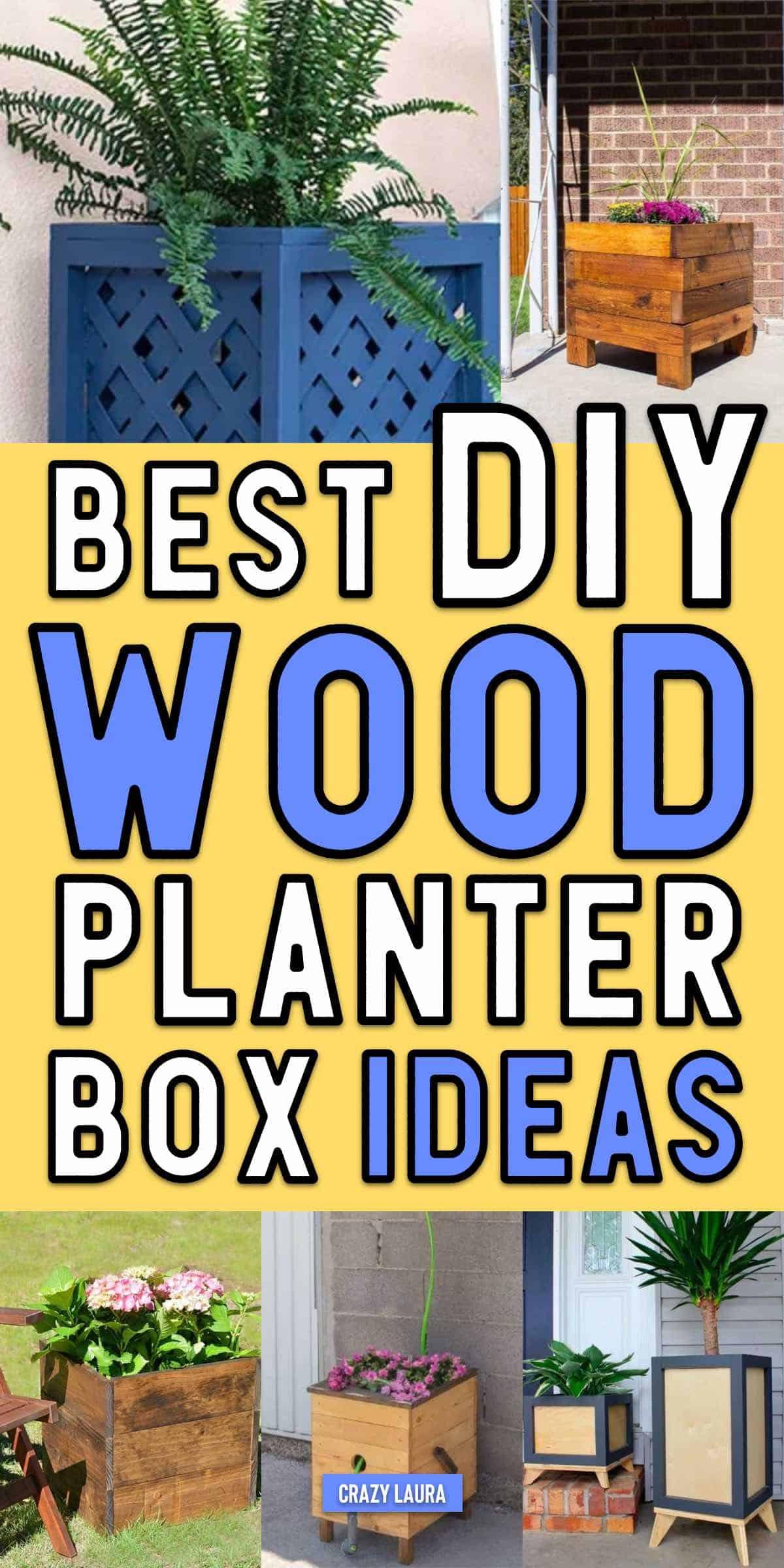 cute planter box ideas