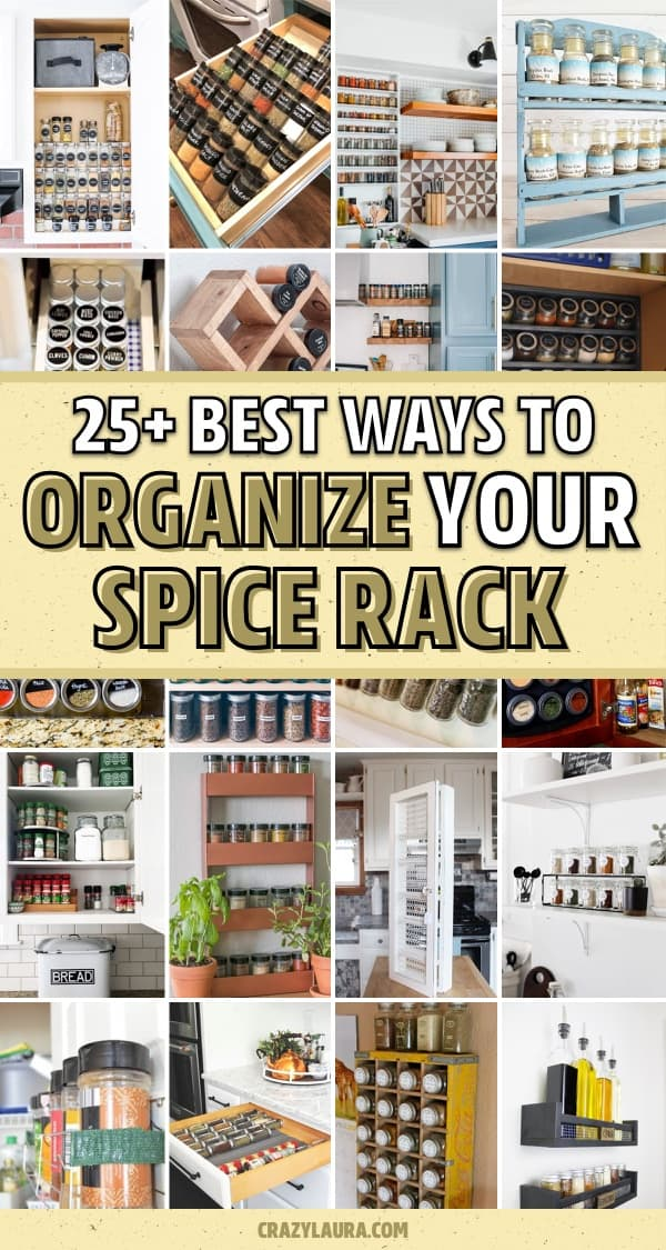 declutter spice drawer ideas