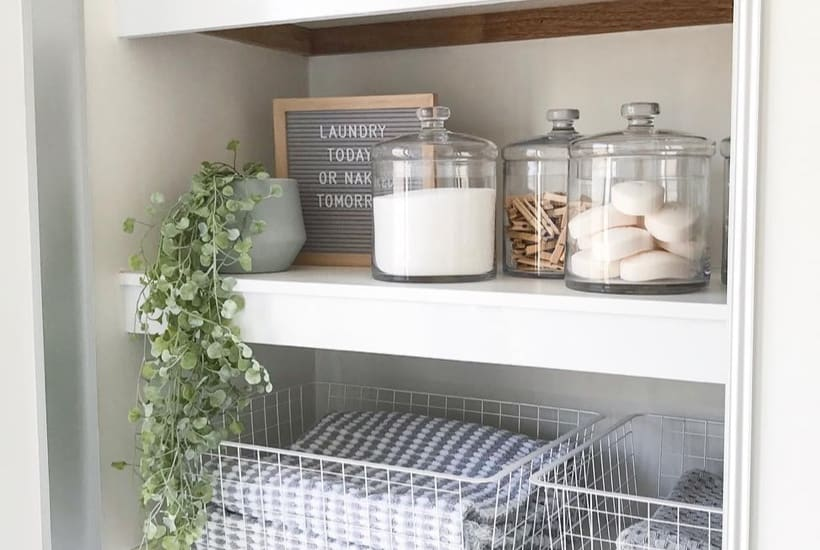 easy linen closet ideas