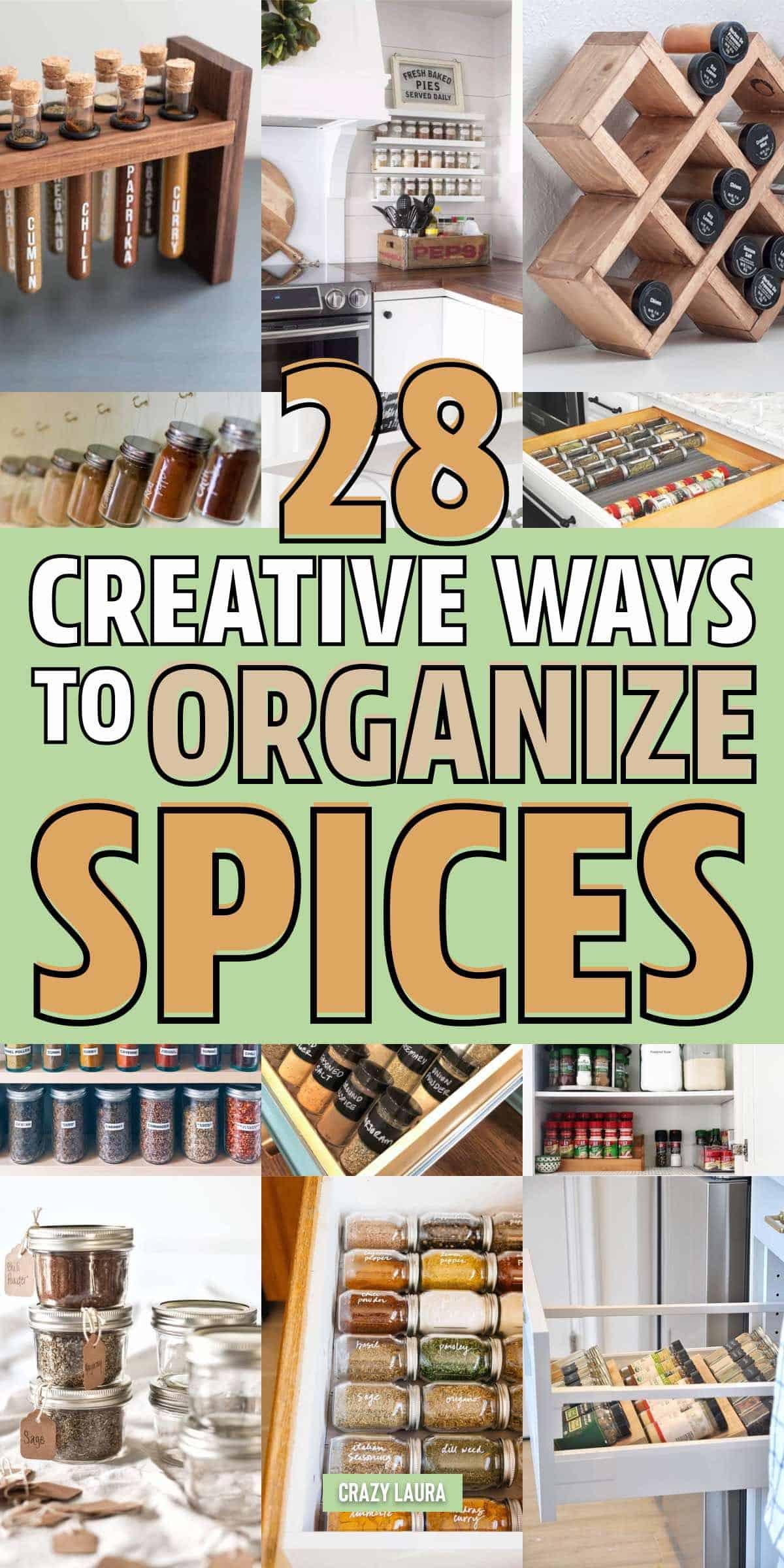 easy spice rack ideas