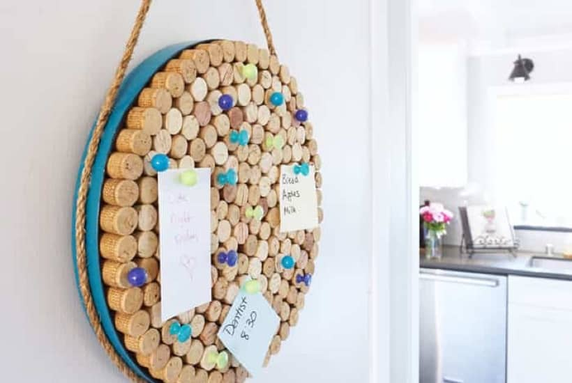 easy wine cork craft ideas
