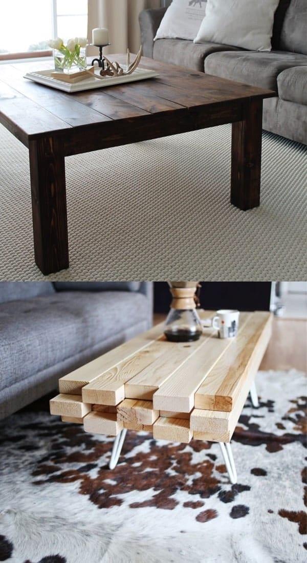 best wood coffee table ideas