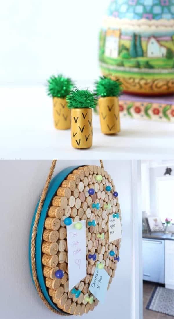 cute cork board tutorials