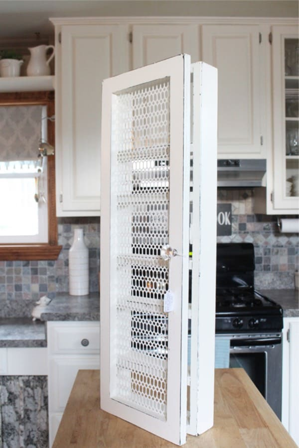 easy spice storage rack