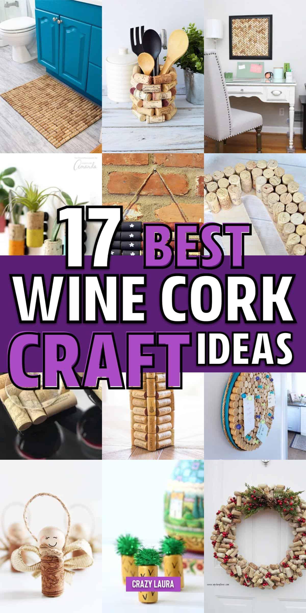 best way to reused wine corks
