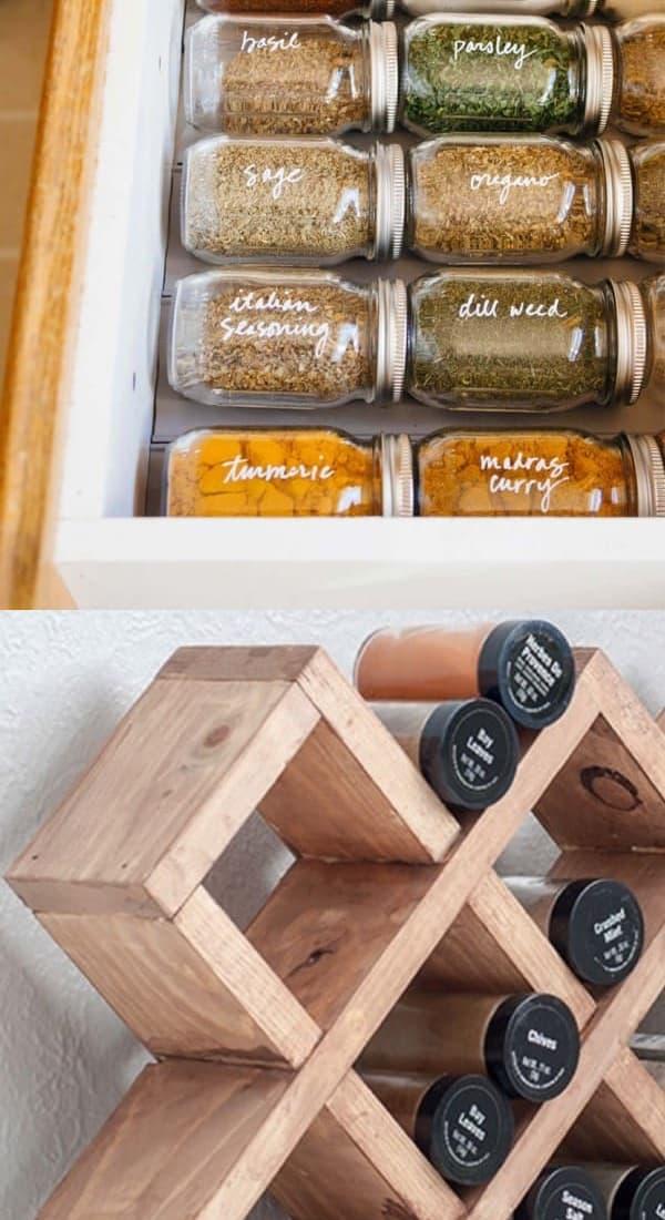 examples of creative spice racks