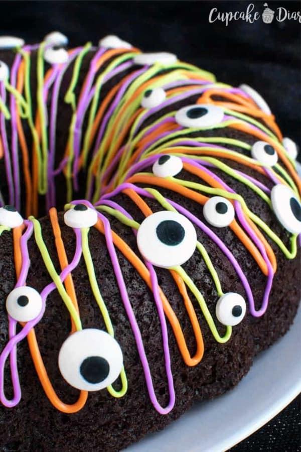 monster theme dessert ideas