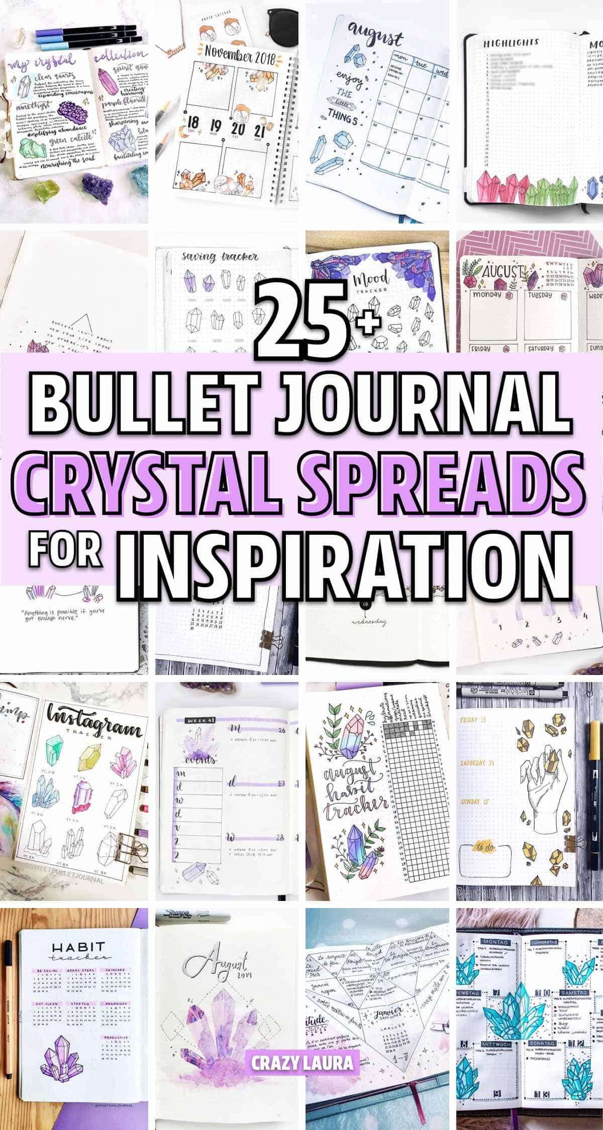 bujo crystal theme examples