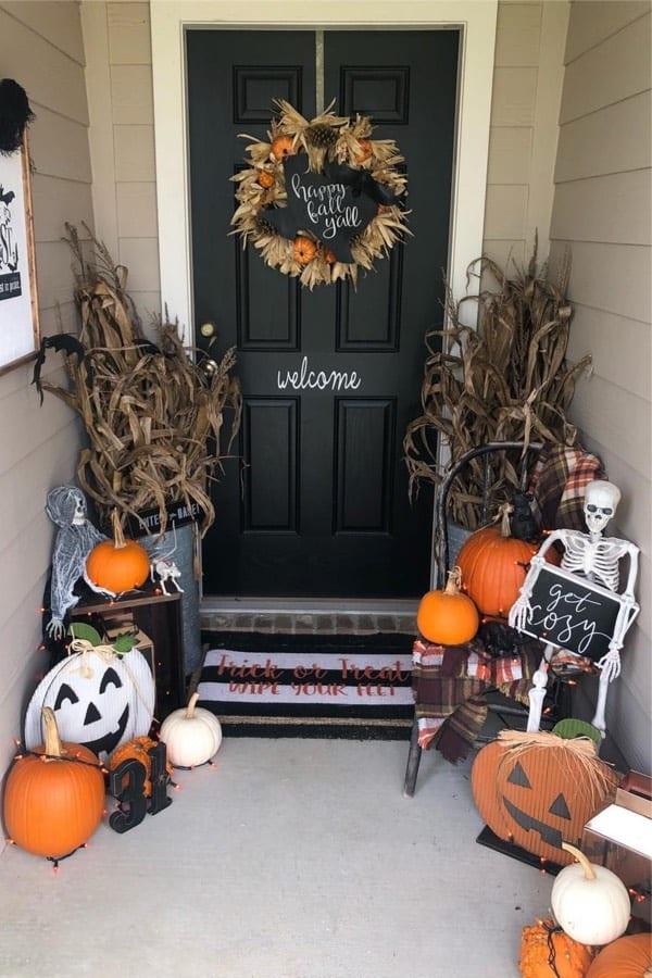 festive ideas for fall porch