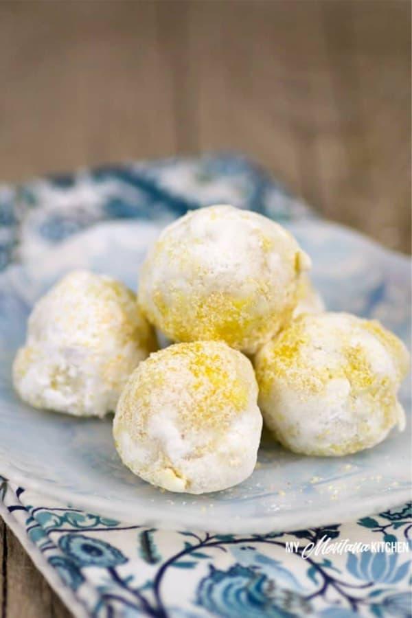 lemon recipe for fat bomb