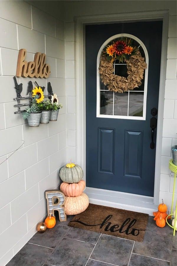best fall decor for front door
