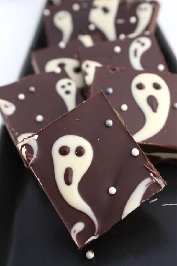 ghost chocolate recipe