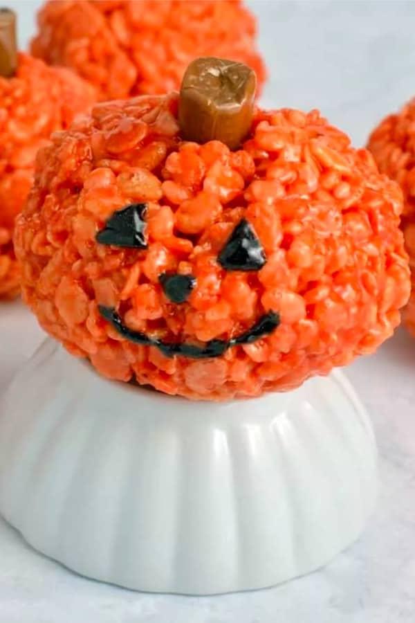 rice krispies for halloween