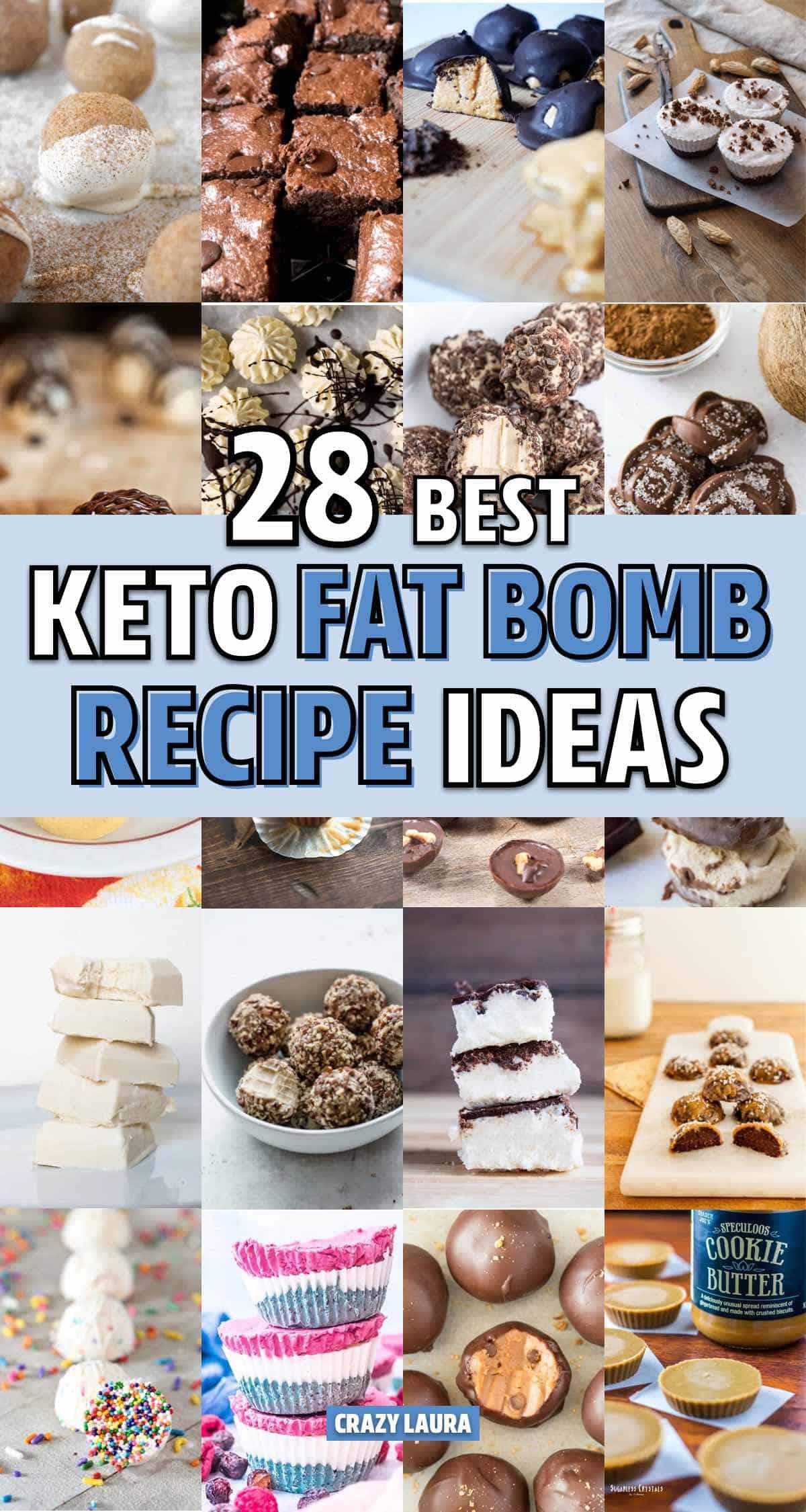 easy fat bomb recipe examples