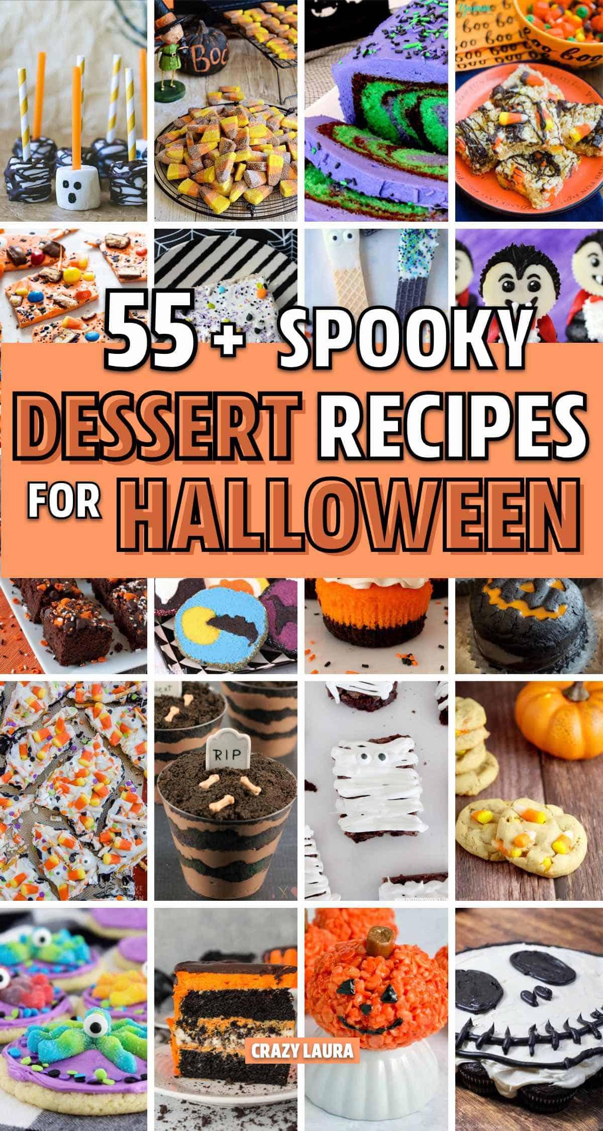 spooky halloween party treats