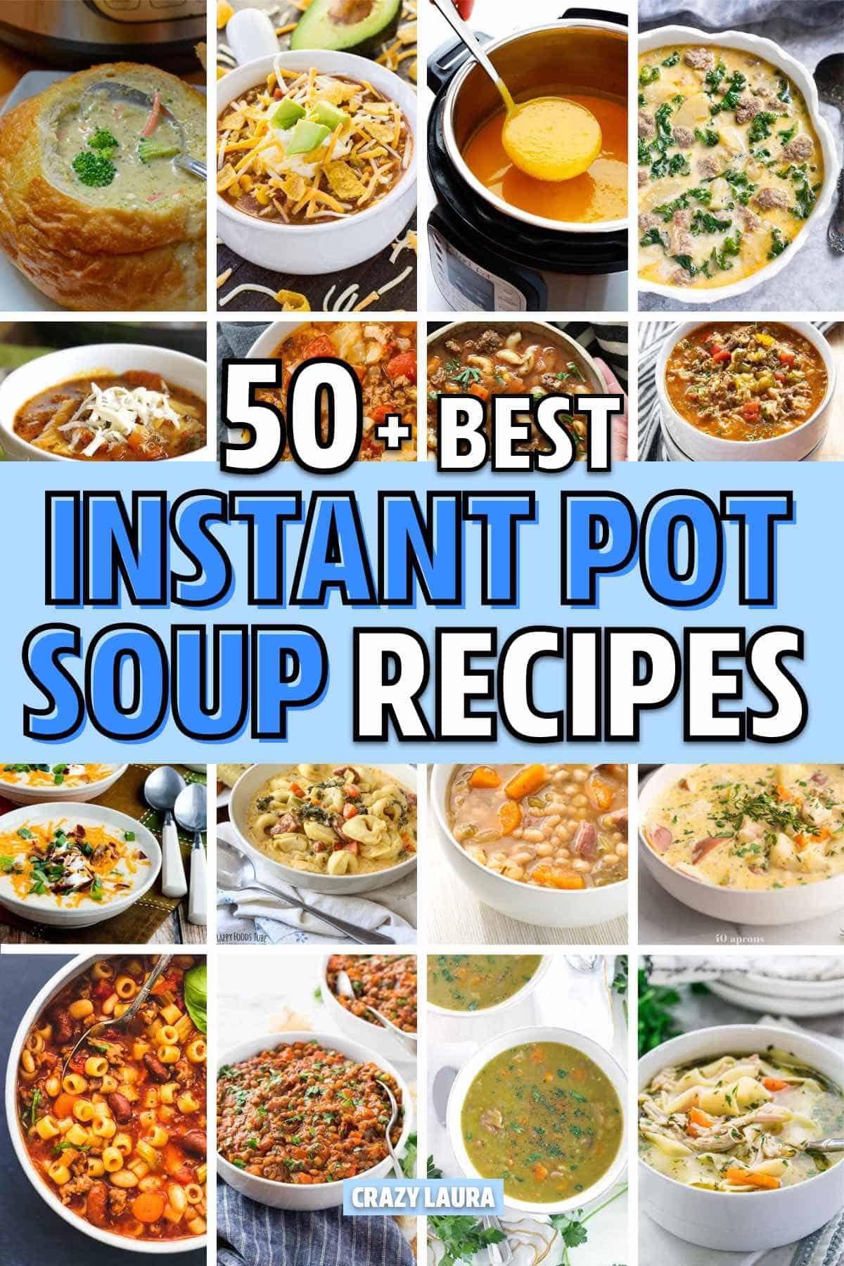 easy insta pot soup ideas
