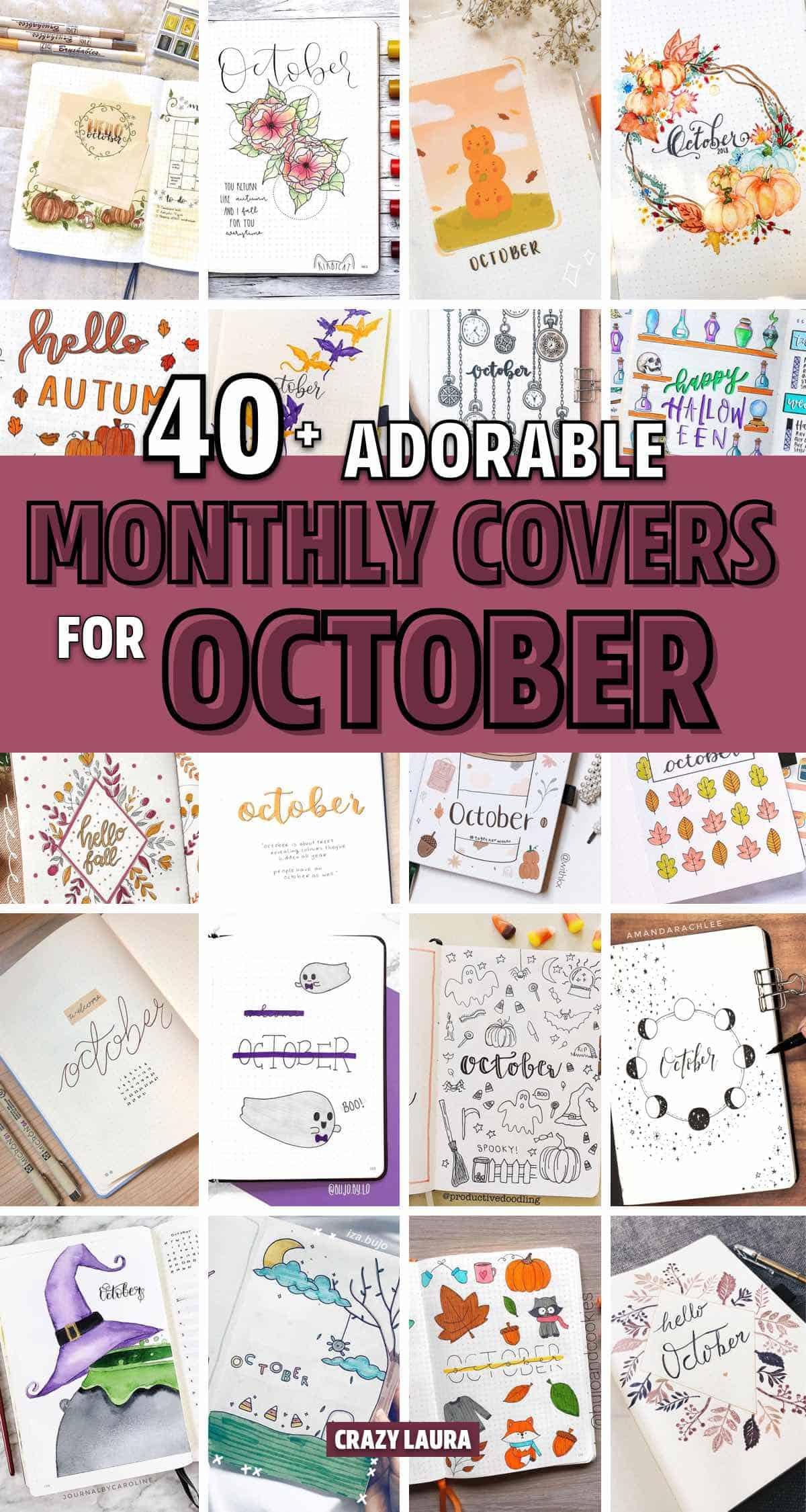 best list of fall bujo cover ideas