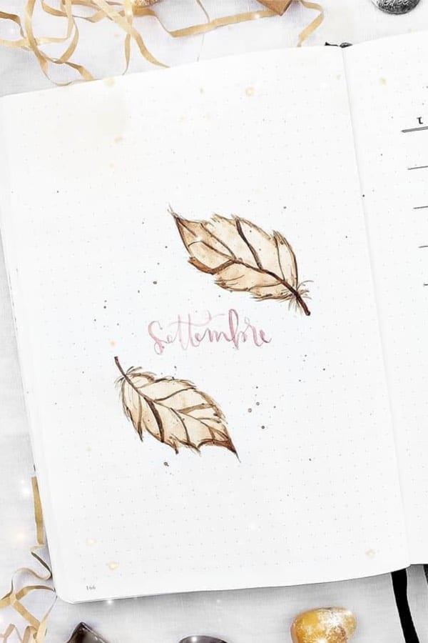simple autumn cover spread ideas