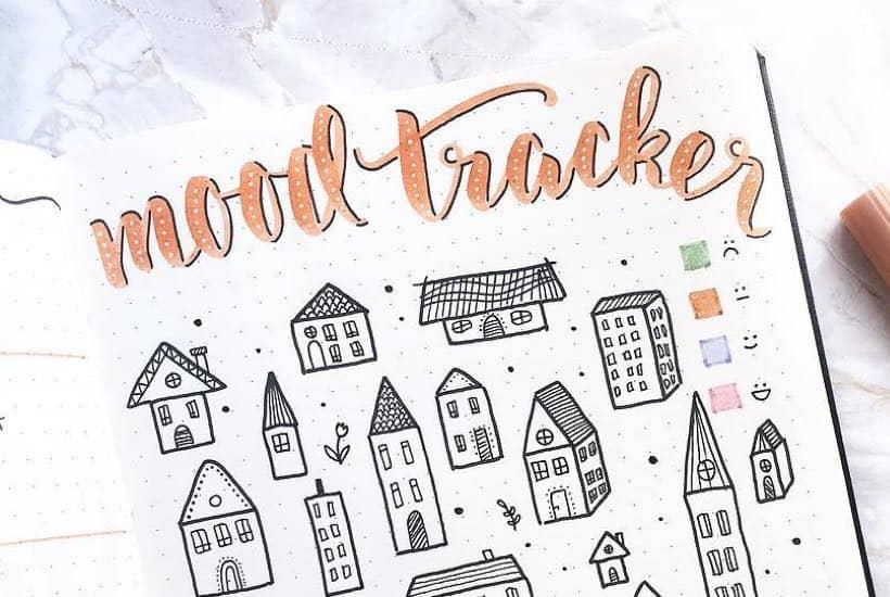 30 Best September Mood Tracker Ideas For Bullet Journals