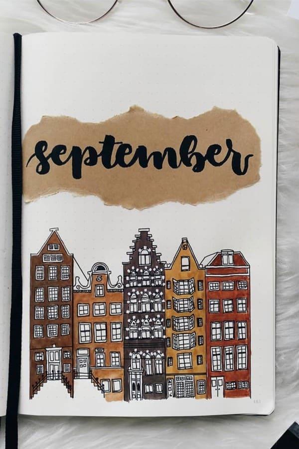 easy ideas for september cover spread