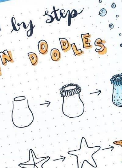 best ideas for ocean doodle decoration
