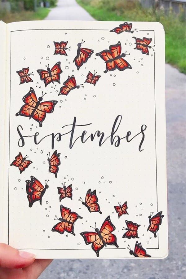 fall cover page theme ideas