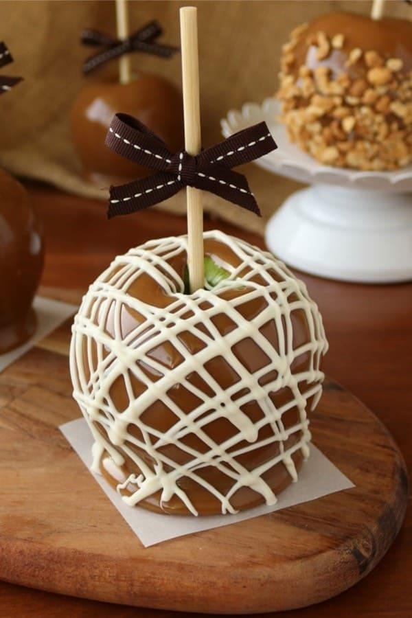 easy carmel apples