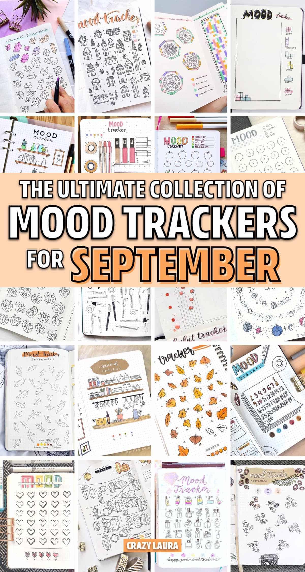 creative ways to setup mood tracker