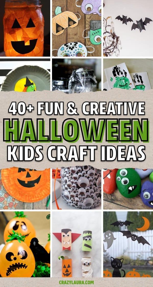 october halloween paper crafts