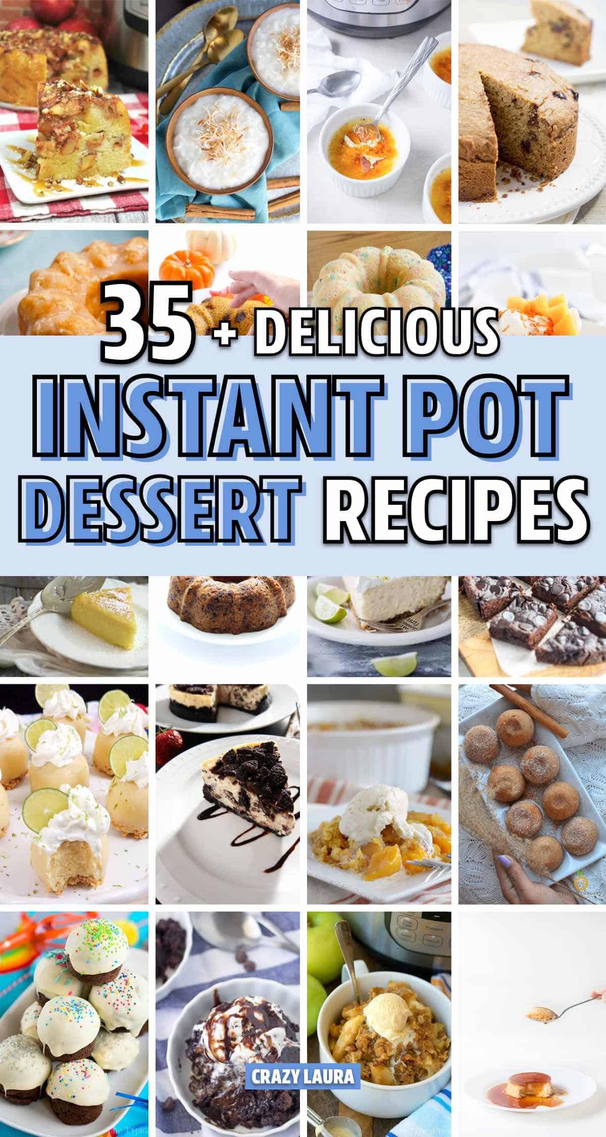 quick dessert recipe for instant pot