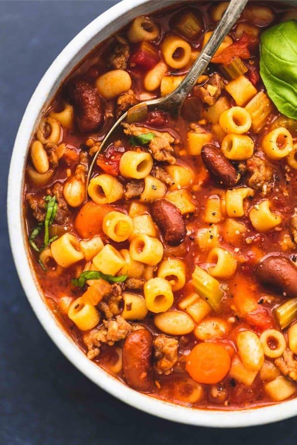 fagioli soup recipe for instant pot
