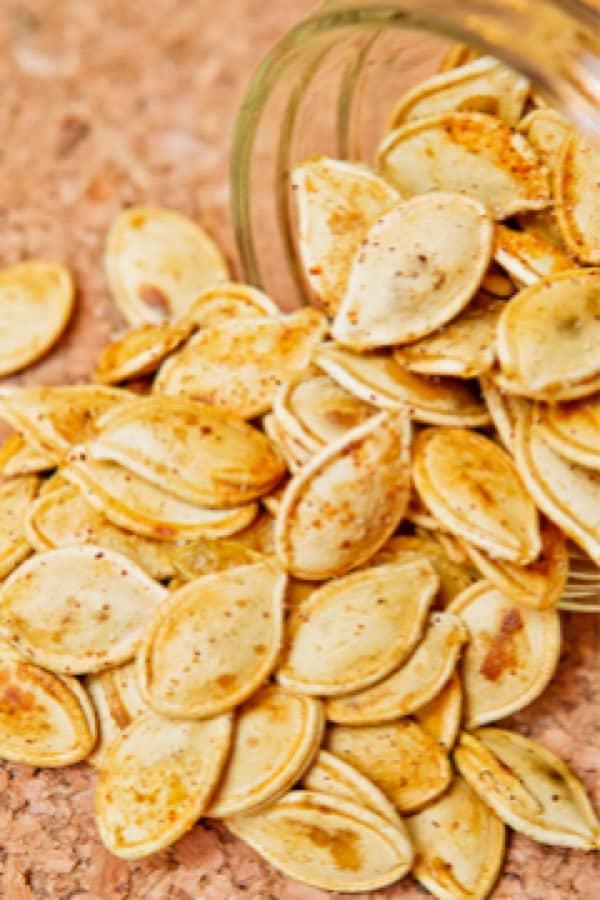 pumpkin seed appetizer