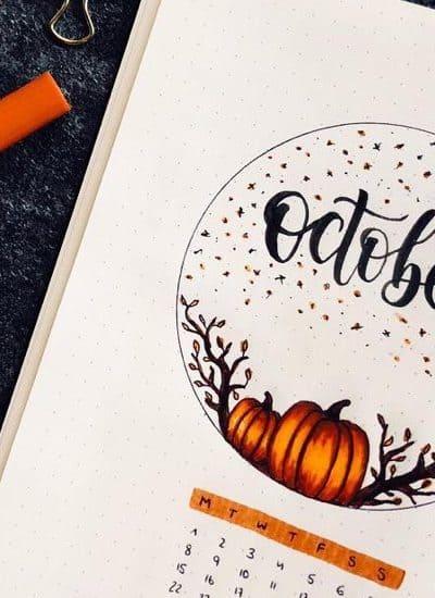 ideas for fall bullet journal theme