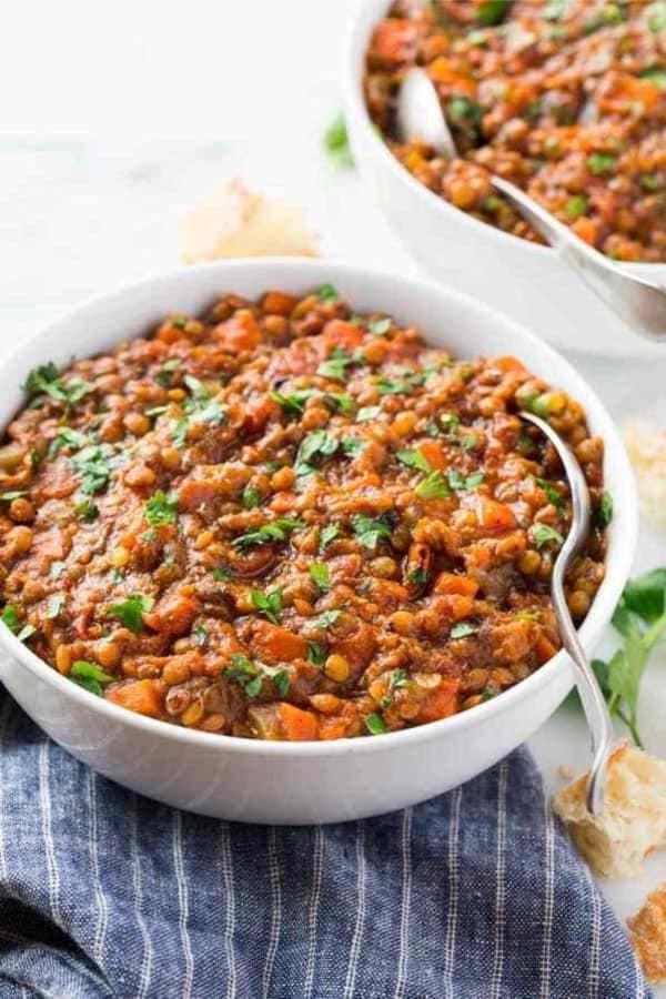 lentil soup with instant pot recipe