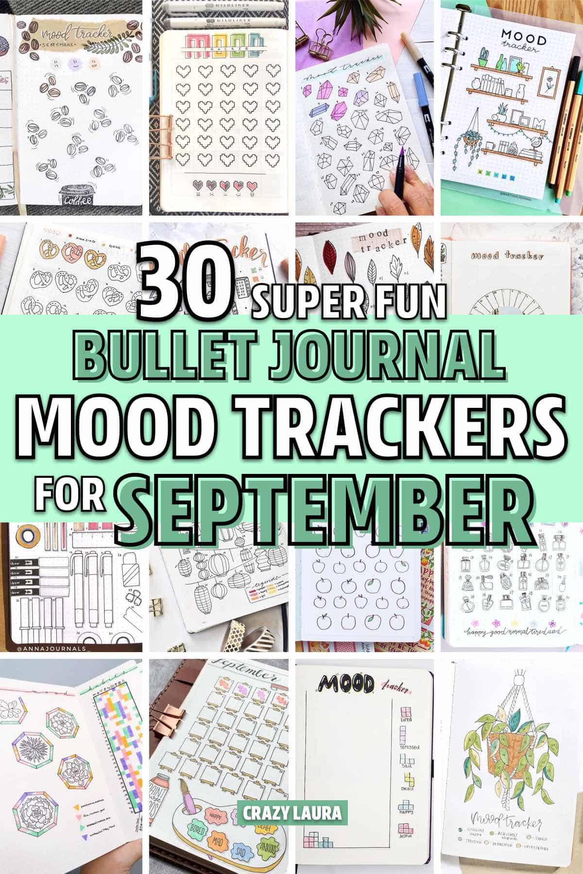 bullet journal sept spread ideas