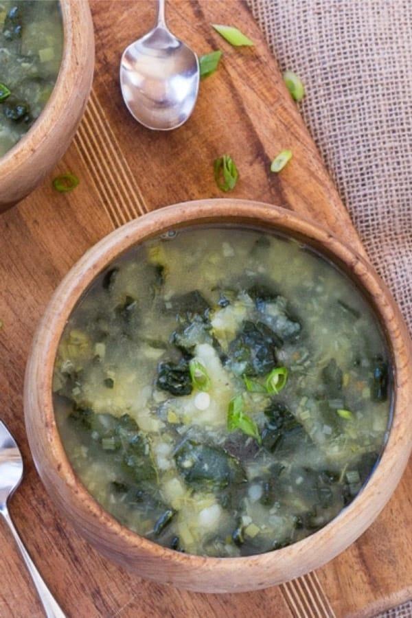 quick kale soup recipe