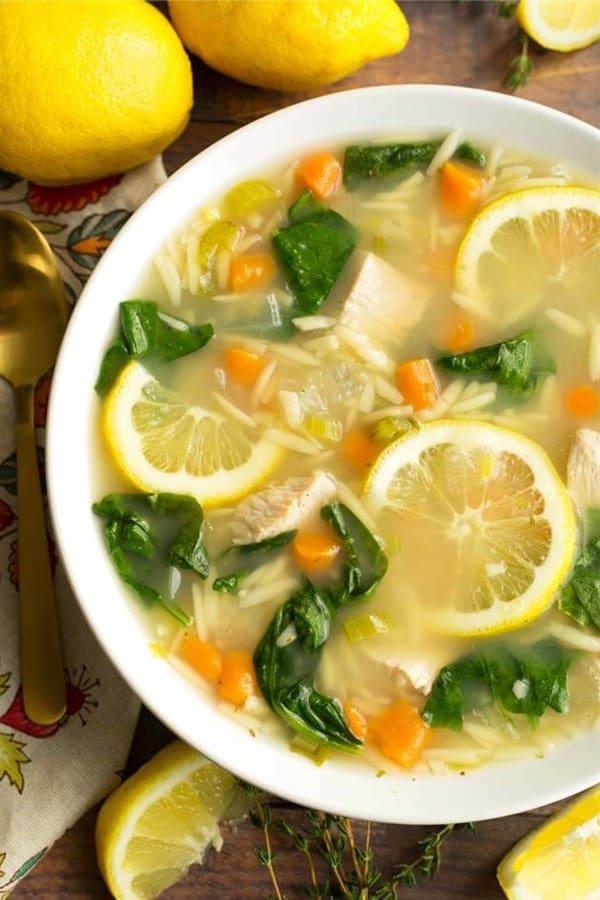 lemon chicken soup recipe ideas for instant pot