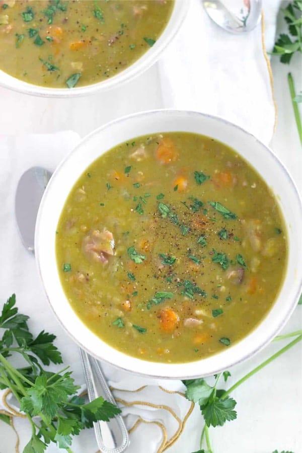 best pea soup recipes for instant pot