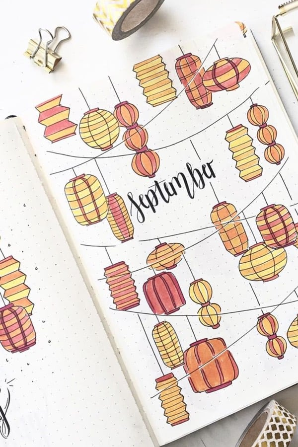 cover spread ideas for fall