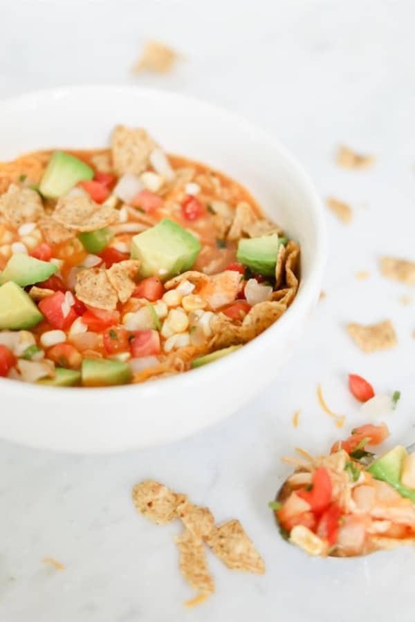 enchilada soup in pressure cooker