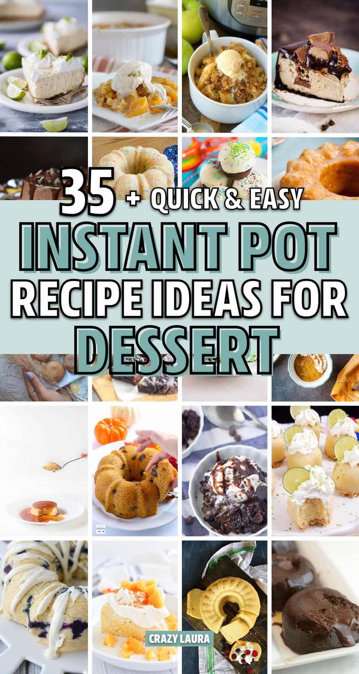 easy pressure cooker recipes for dessert
