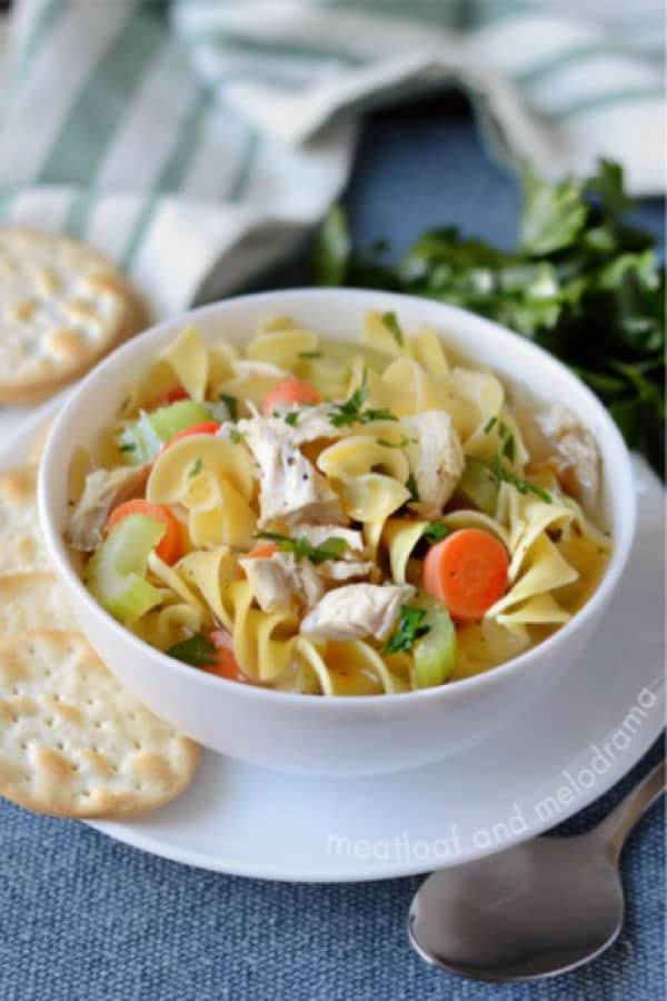 turkey soup recipe for instant pot