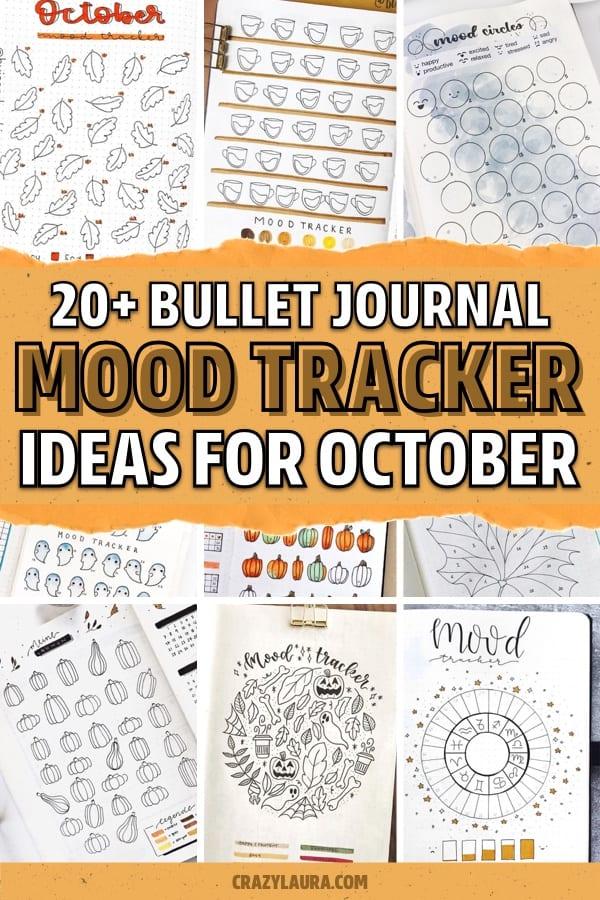 fall mood tracker inspiration
