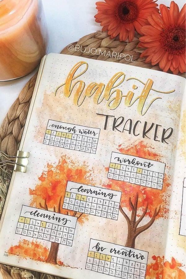 simple habit spreads for fall