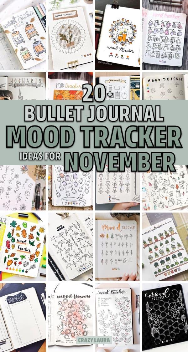 sweater weather mood tracker ideas for bujo