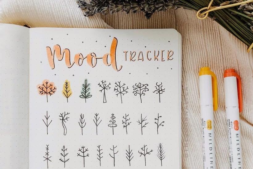 20+ Must Try November Mood Tracker Ideas For 2020